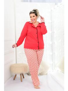 Pijama Plus Size Feminino Inverno ( 212015vermelho)
