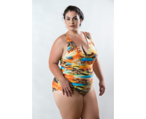 MAIÔ PLUS SIZE RETRÔ SEM BOJO ( 007retrô)