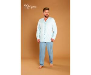 Pijama GG Plus Size Masculino ( 90045)