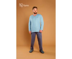 Pijama Tamanho Grande Masculino ( 90046)