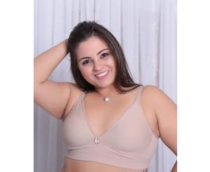 Sutiã Plus Size Básico Tamanho Grande ( 9016)