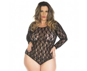 BODY PRETO PLUS SIZE ( 2035BODY)