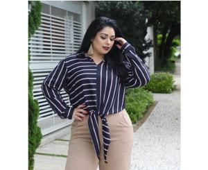 Camisa Plus Size Katia ( Mab16)