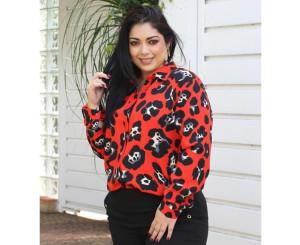 Camisa Plus Size Marilda Mab19