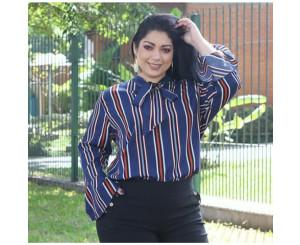 Camisa Plus Size Lucia Mab20