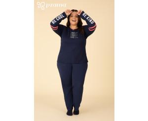 Pijama Plus Size Feminino ( 90099)