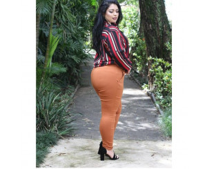Calça Plus Size Bengaline ( MABENGALINE)
