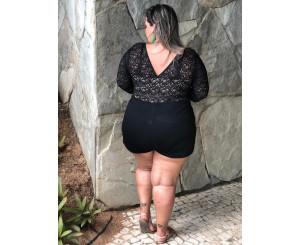Body Arrastão Bela Mulher GG ( 171077)
